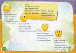 Fragment książki z wierszykami Nasze emocje