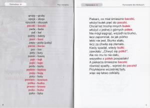 Fragment książki Logopedyczne opozycje głoskowe