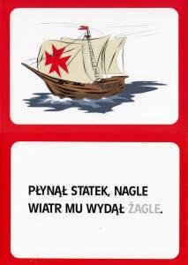 Zabawy z rymami – zestaw czerwony